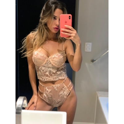 Corset Nude Mulheres